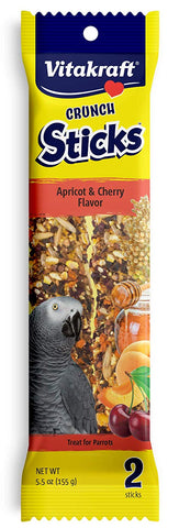 Vitakraft Treat Sticks Parakeet Apricot Orange