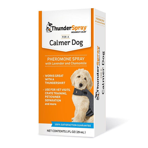 ThunderSpray for Dogs-DOG-Thundershirt-Pets Go Here anxiety, calming, dog, dog anxiety treatment, health, spray, thundershirt Pets Go Here, petsgohere