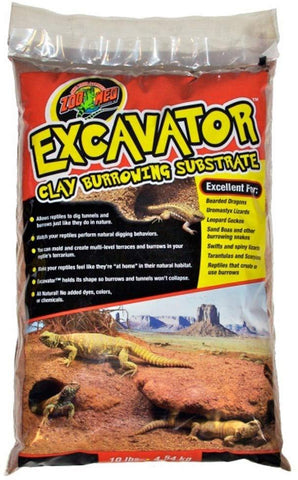 Zoo Med Excavator Clay Burrowng Substrate