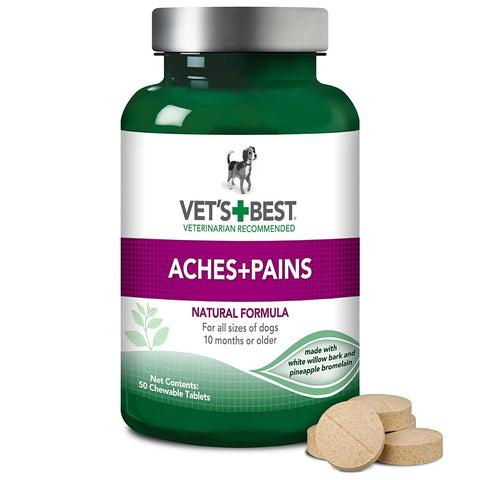 Vet's Best Aspirin Free Aches + Pains Dog Supplement