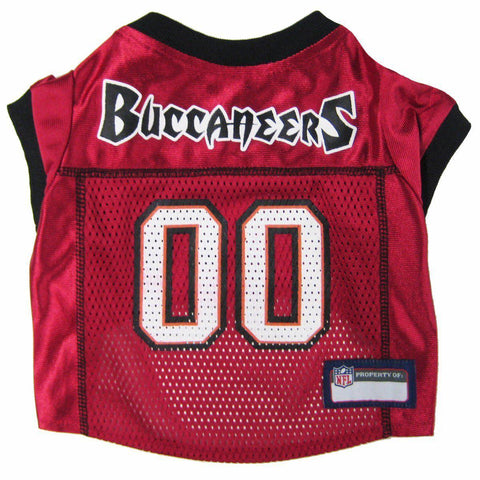 Tampa Bay Buccaneers Dog Jersey-DOG-Pets First-LARGE-Pets Go Here
