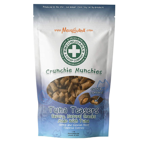 Meowijuana Crunchie Munchie - Tuna Treats
