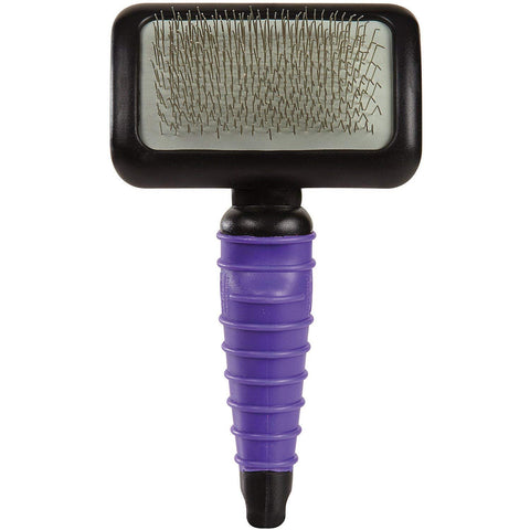 Master Grooming Tools Ergonomic Slicker Brush PURPLE brush, cat, dog, ergonomic, grooming, purple, slicker brush Pets Go Here, petsgohere