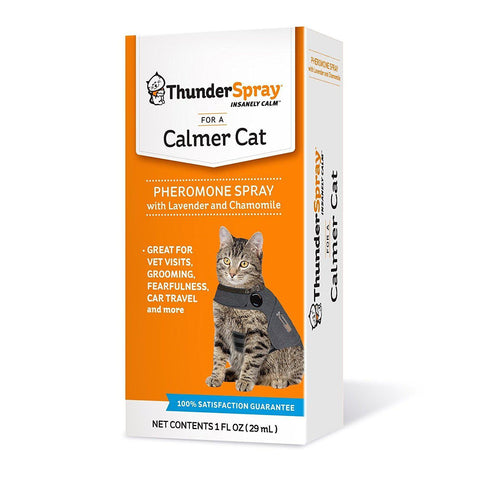 ThunderSpray for Cats-CAT-Thundershirt-Pets Go Here anxiety, calming, cat, first aid, health, spray, supplement, thundershirt Pets Go Here, petsgohere