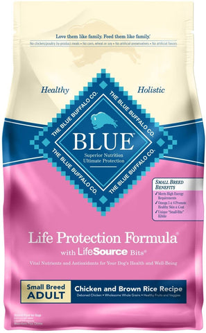 Blue Buffalo Small Breed Grain-Free Dry Dog Food