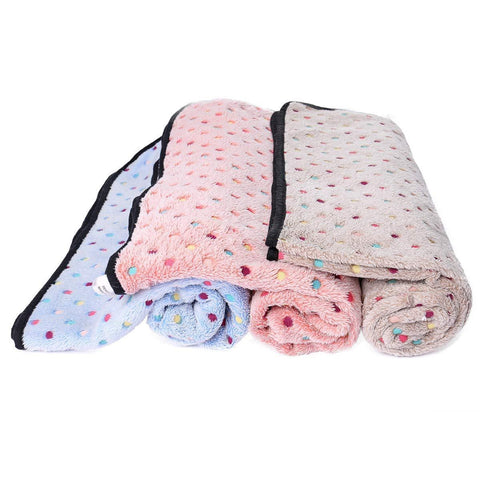 PAWZ Road Pet Dog Blanket Fleece Fabric Soft and Cute