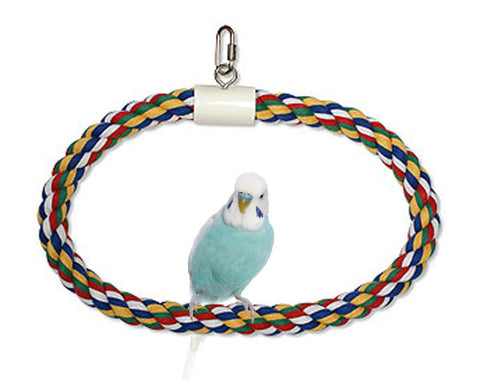 Booda Swing N Perch RING bird, bird toys, ds, l, perch Pets Go Here, petsgohere