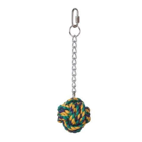"Multipet Nuts for Knots for Birds 2.5"" bird toys Pets Go Here, petsgohere"