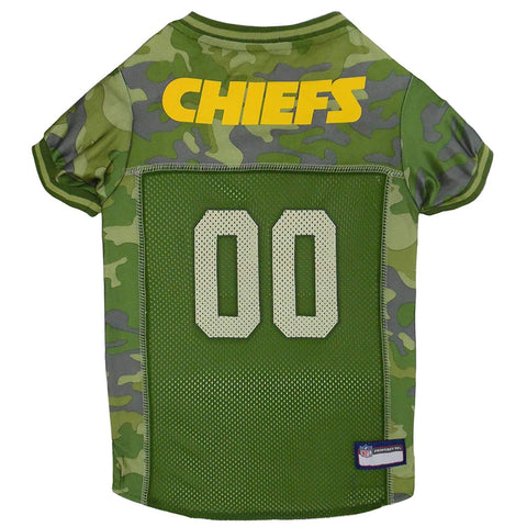 NFL CAMO Kansas City Chiefs Jersey