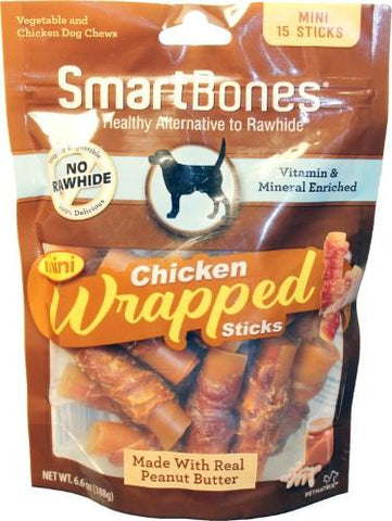 Smartbones Chicken Wrapped Sticks Mini