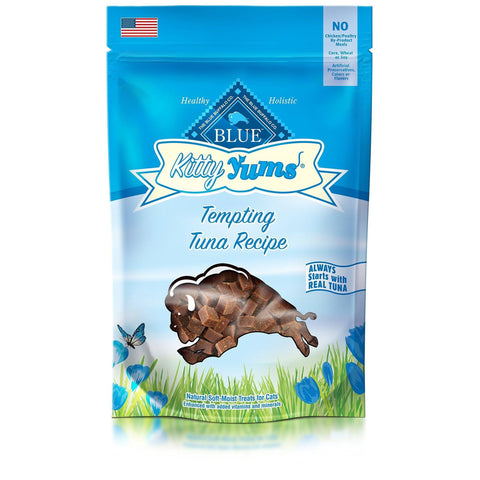 Blue Kitty Yums Soft-Moist Cat Treat TUNA 2 Oz-CAT-Taste of the Wild-2 Oz-Pets Go Here