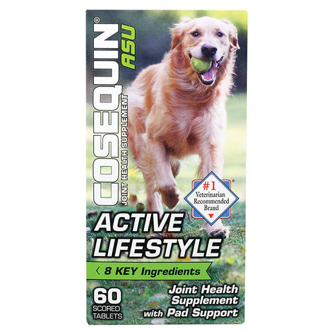 Cosequin ASU Active Lifestyle Joint & Pad Health For Dogs (60 Ct)