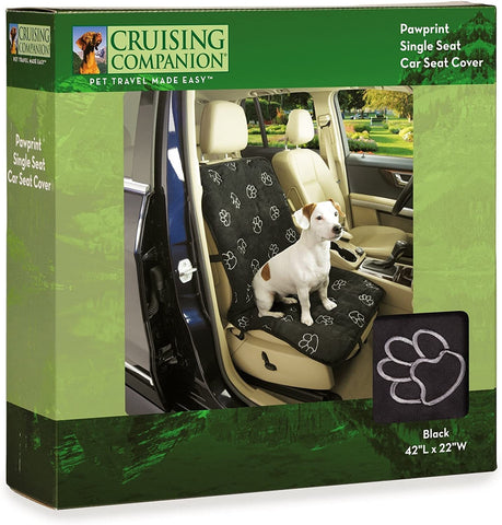 Cruising Companion Dog Seat Cover Black
