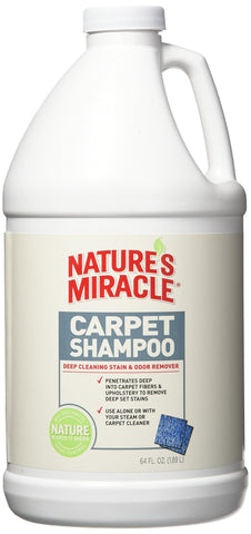 Nature's Miracle Deep Cleaning Pet Stain and Odor Carpet Shampoo