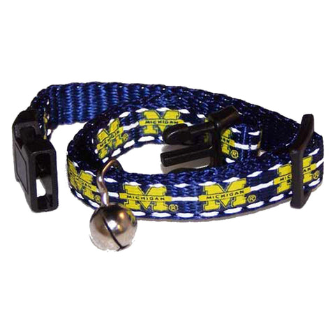 Michigan Wolverines Breakaway Cat Collar-CAT-Pet Goods-Pets Go Here