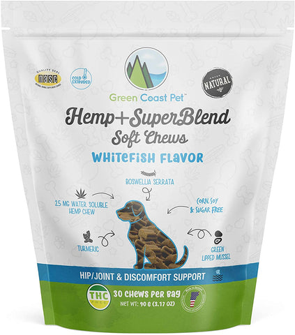 Green Coast Pet Hemp Dog Treats