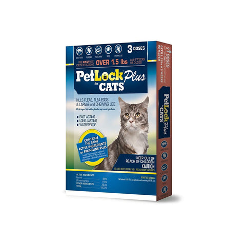 Petlock Plus Security Flea Repellent for Cats