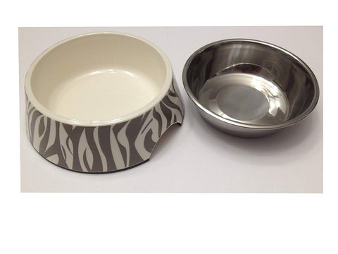 Pet Studio Safari Melamine Dog Bowls