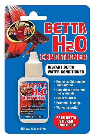 Zoo Med Beta H2O Conditioner 0.5 Oz