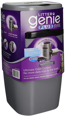 Litter Genie Cat Litter Disposal System amazon, cat, cat litter, clean-up, litter, waste Pets Go Here, petsgohere