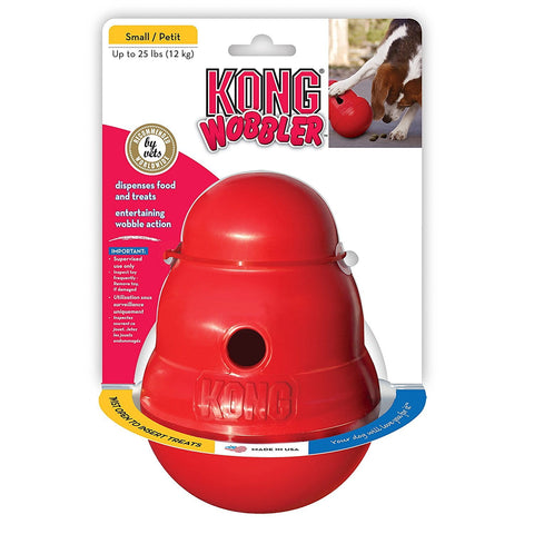 Kong Classic Wobbler Treat Dispensing Dog Toy dog, dog toy, kong, squeak cat toy, toy Pets Go Here, petsgohere