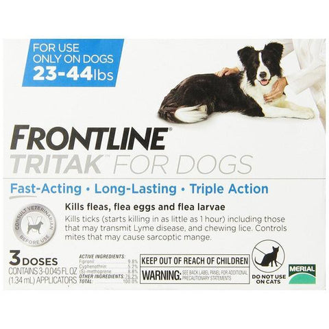 Frontline Tritak Treatments 23-44 Lb 6 Months