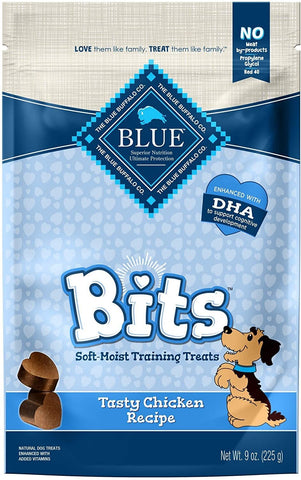 Blue Bits Training Treats Chicken 9 Oz
