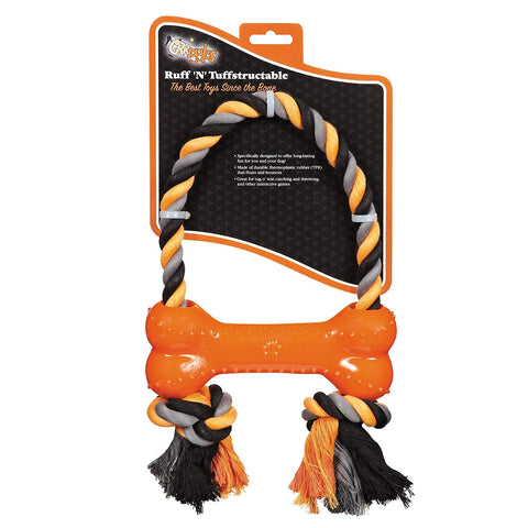 Grriggles Ruff 'N' Toughstructable Dog Chew Toy for Training and Playing