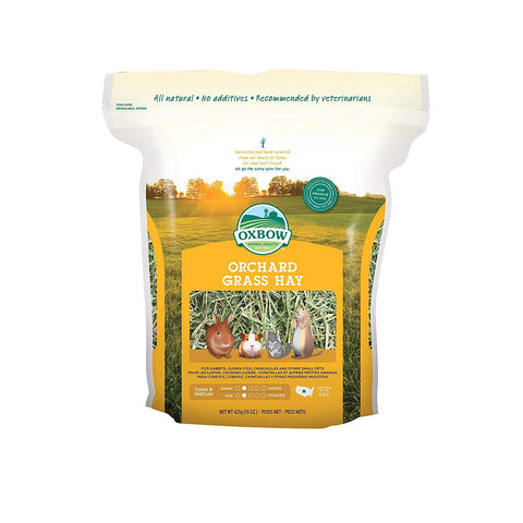 Oxbow Animal Health Orchard Grass Hay For Pets 15 Oz
