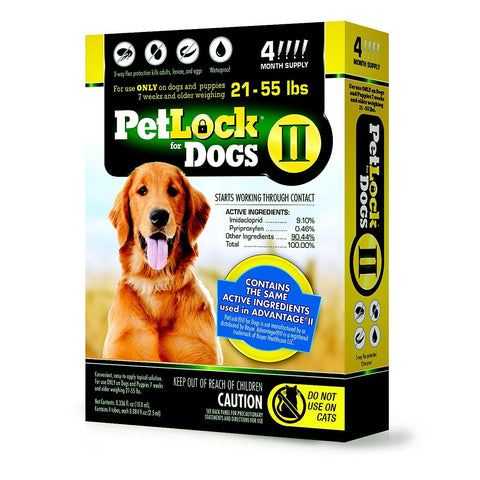 PetLock II Flea Treatment for Dogs S