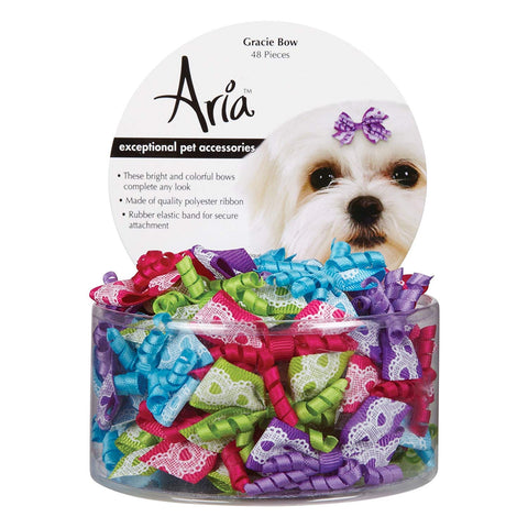 Aria Gracie Dog Bows