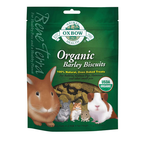 Oxbow Organic Barley Biscuit Baked Treats