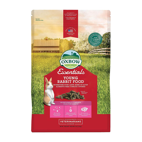 Oxbow Young Rabbit Food (Alfalfa Based)
