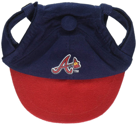 MLB Atlanta Braves Dog Hat Atlanta Braves XS