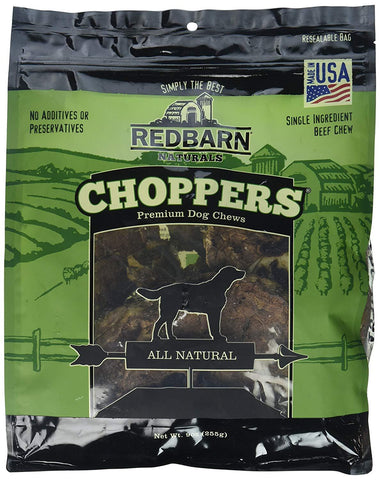 Redbarn Choppers Beef Lung Chews For Dogs