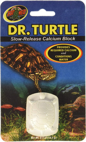 Zoo Med Dr.Turtle Slow-Release Calcium Block