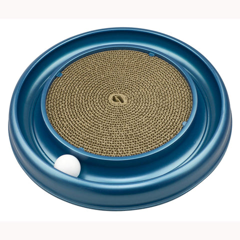 Bergan Turbo Scratcher Cat Toy Colors may vary ball, cat, cat toy, toy Pets Go Here, petsgohere