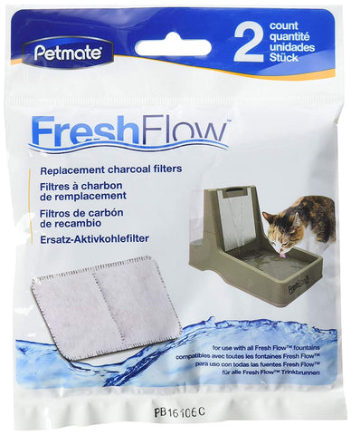 Petmate Fresh Flow Replacement Filter filter, fountain, water Pets Go Here, petsgohere