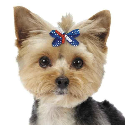 ARIA Patriotic Celebration Dog Barrettes