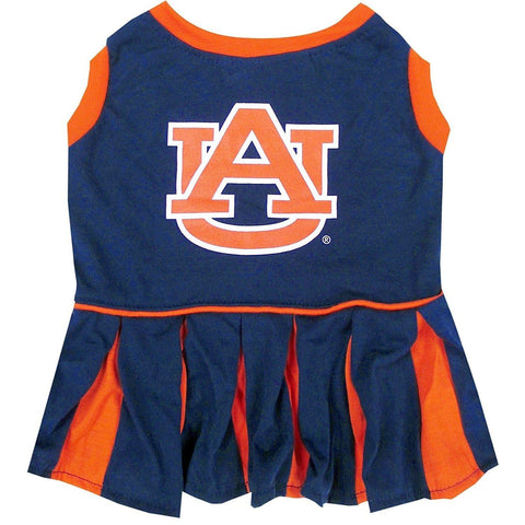 Auburn Cheerleader Dog Dress-DOG-Pets First-MEDIUM-Pets Go Here costume, dog, dog dress, l, m, ncaa, pets first, s, sports, test, uniform, xl, xs Pets Go Here, petsgohere