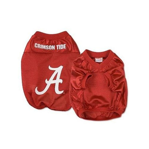 NCAA Alabama Crimson Tide Football Dog Jersey MEDIUM alabama, bama, jersey, ncaa, ncaa jersey, sports, sports jersey Pets Go Here, petsgohere