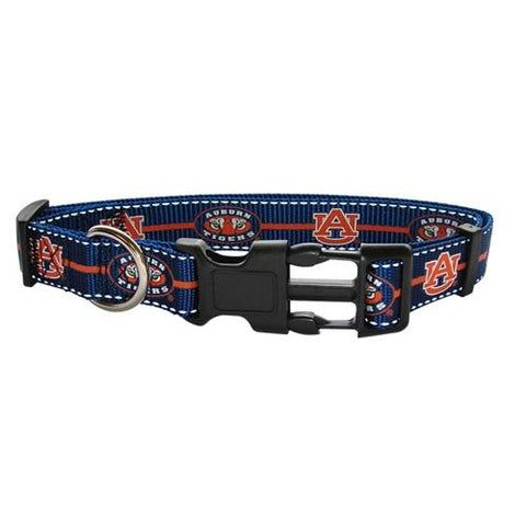 Auburn Tigers Reflective Dog Collar-DOG-Pets First-SMALL-Pets Go Here mlb, nba, ncaa, nylon, sports, sports collar Pets Go Here, petsgohere