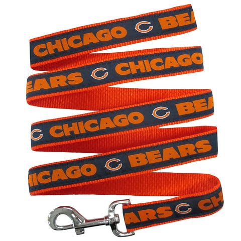 Chicago Bears Dog Leash-DOG-Pets First-Pets Go Here nfl, nylon, pets first, sports Pets Go Here, petsgohere