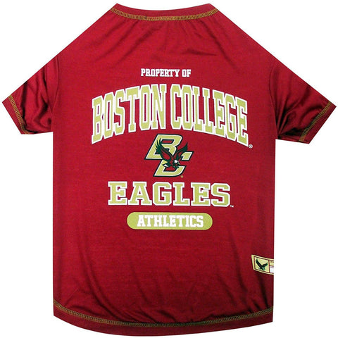 Boston College Dog Shirt OOS-DOG-Pets First-MEDIUM-Pets Go Here