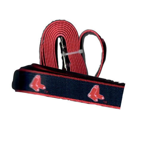 MLB Boston Red Sox Dog Leash Nylon
