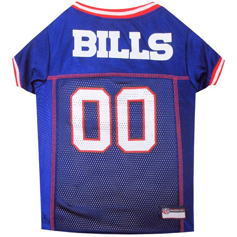 NFL Buffalo Bills Dog Jersey RED TRIM jersey, l, m, nfl, pets first, s, sports, sports jersey, xl, xs Pets Go Here, petsgohere