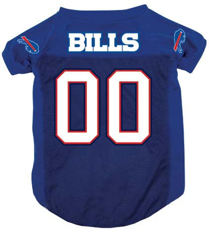 NFL Buffalo Bills Dog Jersey BLUE