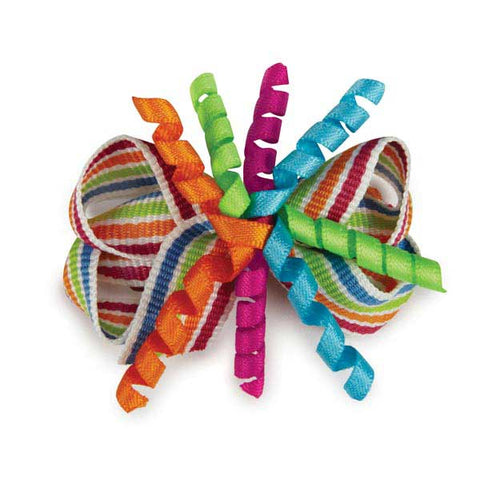Aria Festive Curls Celebration Dog Bow 5 Pack