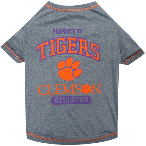 Clemson Dog Shirt-DOG-Pets First-LARGE-Pets Go Here l, m, ncaa, pets first, s, sport shirt, test, xl, xs Pets Go Here, petsgohere