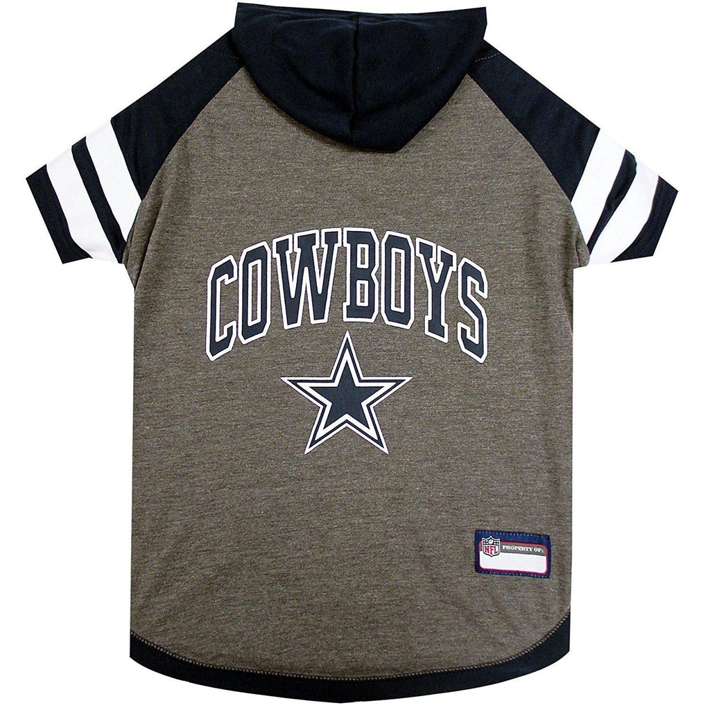 cabf858dcc6e0 Dallas Cowboys Dog Hoodie Shirt-DOG-Pets First-LARGE-Pets Go Here